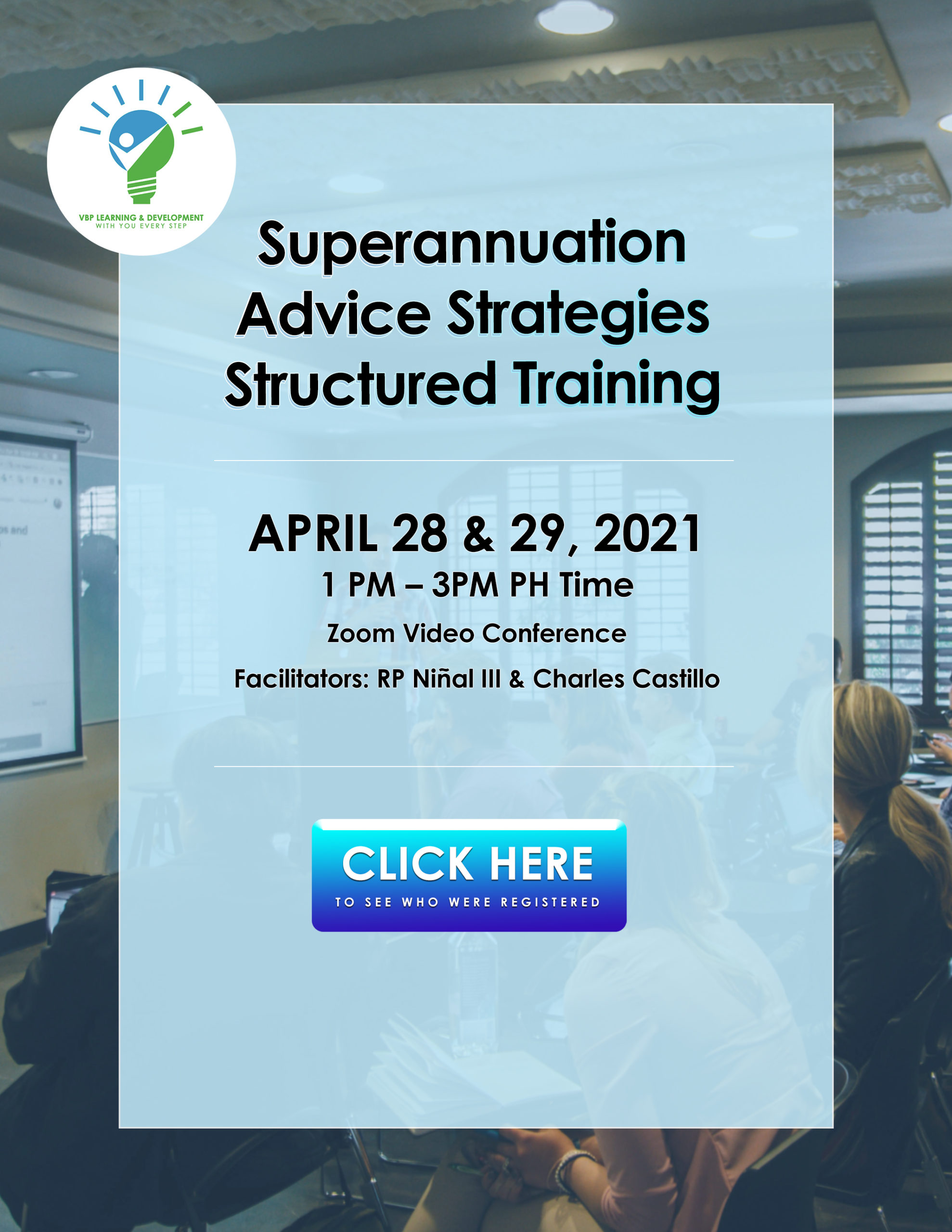 April 2021 structured training